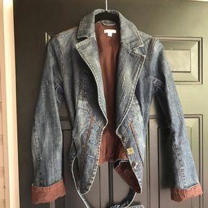 Cache Denim Blazer/Jacket